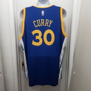 Stephen Curry Golden State Warriors Jersey Sewn